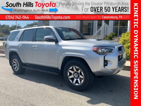 Classic Silver Metallic Toyota 4Runner TRD Off-Road Premium 4x4.  Click to enlarge.
