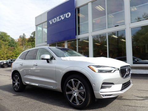 Bright Silver Metallic Volvo XC60 T6 AWD Inscription.  Click to enlarge.