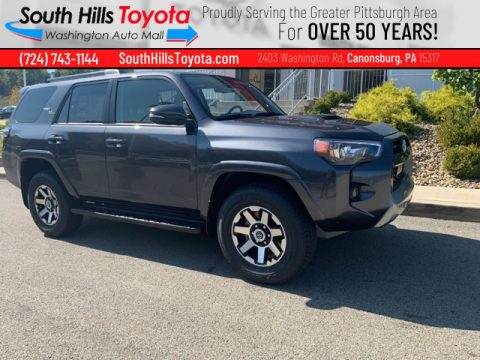 Magnetic Gray Metallic Toyota 4Runner TRD Off Road Premium 4x4.  Click to enlarge.