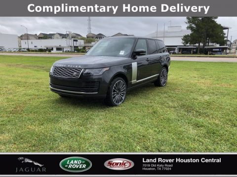 Carpathian Gray Metallic Land Rover Range Rover Westminster.  Click to enlarge.