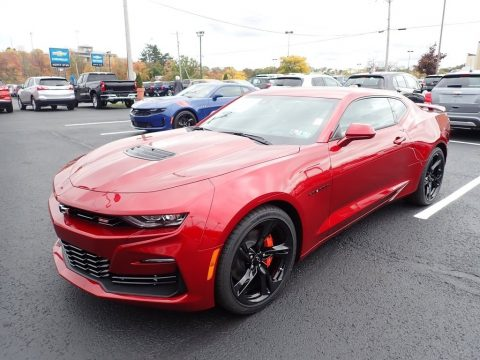 Wild Cherry Tintcoat Chevrolet Camaro SS Coupe.  Click to enlarge.