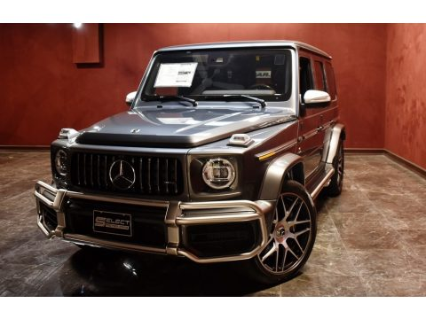 designo Graphite Metallic Mercedes-Benz G 63 AMG.  Click to enlarge.