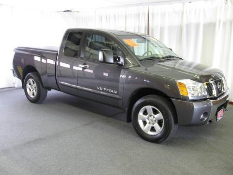 used 2007 nissan titan se king cab 4x4 for sale stock 99359a dealer car ad. Black Bedroom Furniture Sets. Home Design Ideas