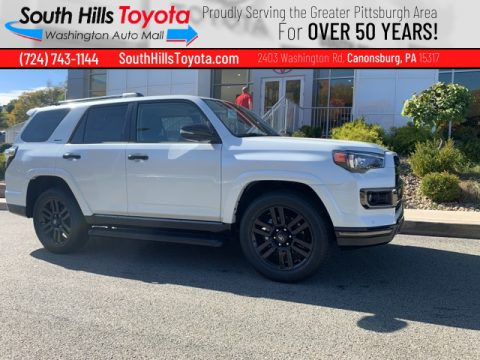 Blizzard White Pearl Toyota 4Runner Nightshade 4x4.  Click to enlarge.