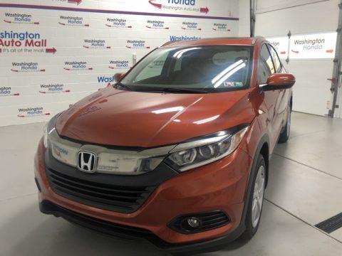 Orangeburst Metallic Honda HR-V EX AWD.  Click to enlarge.