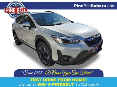 Crystal White Pearl Subaru Crosstrek Limited.  Click to enlarge.