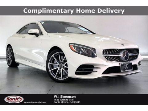 designo Diamond White Metallic Mercedes-Benz S 560 4Matic Coupe.  Click to enlarge.