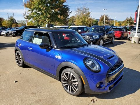 Starlight Blue Metallic Mini Hardtop Cooper S 2 Door.  Click to enlarge.
