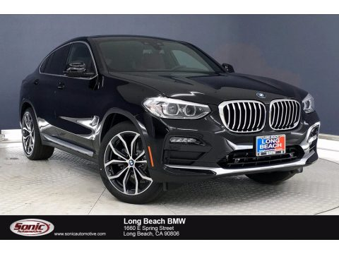 Jet Black BMW X4 xDrive30i.  Click to enlarge.