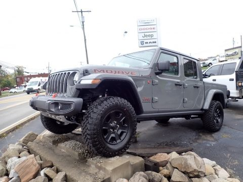 Sting-Gray Jeep Gladiator Mojave 4x4.  Click to enlarge.