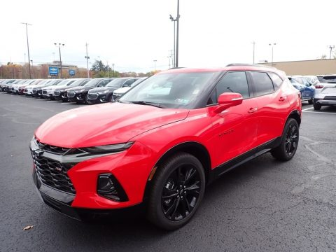 Red Hot Chevrolet Blazer RS AWD.  Click to enlarge.