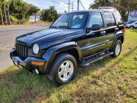 Black Jeep Liberty Limited 4x4.  Click to enlarge.