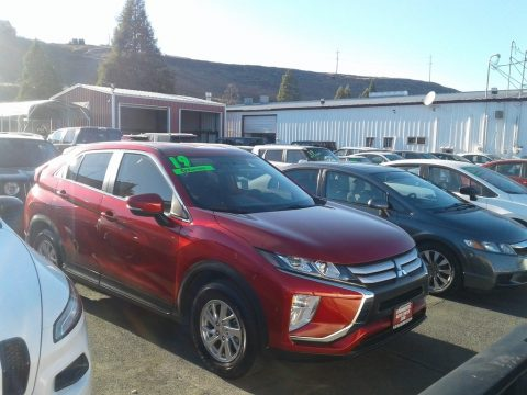 Red Diamond Mitsubishi Eclipse Cross ES.  Click to enlarge.