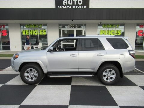 Classic Silver Metallic Toyota 4Runner SR5 Premium.  Click to enlarge.