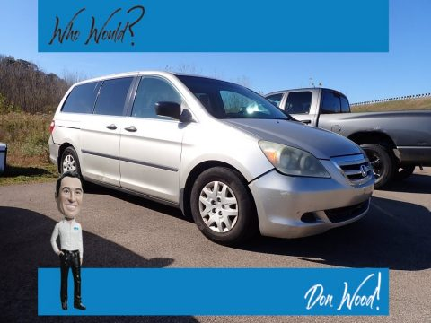 Silver Pearl Metallic Honda Odyssey LX.  Click to enlarge.