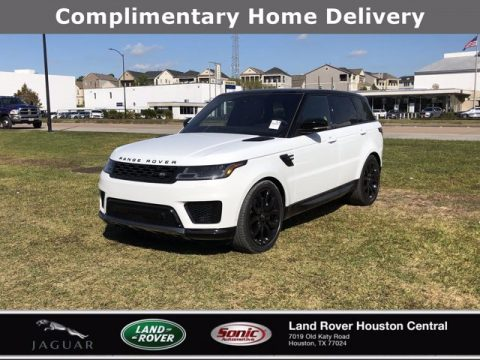 Fuji White Land Rover Range Rover Sport HSE Silver Edition.  Click to enlarge.