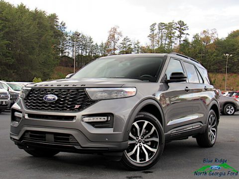 Carbonized Gray Metallic Ford Explorer ST 4WD.  Click to enlarge.