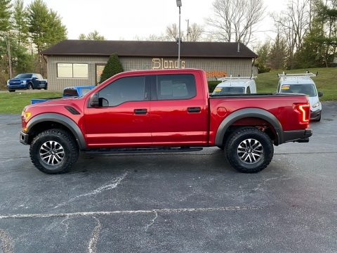 Rapid Red Ford F150 SVT Raptor SuperCrew 4x4.  Click to enlarge.