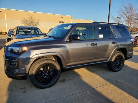 Magnetic Gray Metallic Toyota 4Runner Nightshade 4x4.  Click to enlarge.