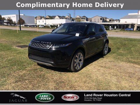 Santorini Black Metallic Land Rover Range Rover Evoque S.  Click to enlarge.