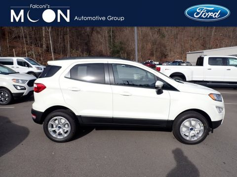 Diamond White Ford EcoSport SE 4WD.  Click to enlarge.