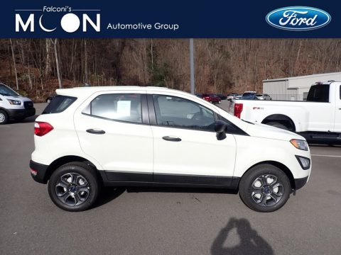 Diamond White Ford EcoSport S 4WD.  Click to enlarge.