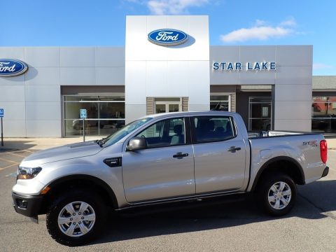 Iconic Silver Ford Ranger STX SuperCrew 4x4.  Click to enlarge.