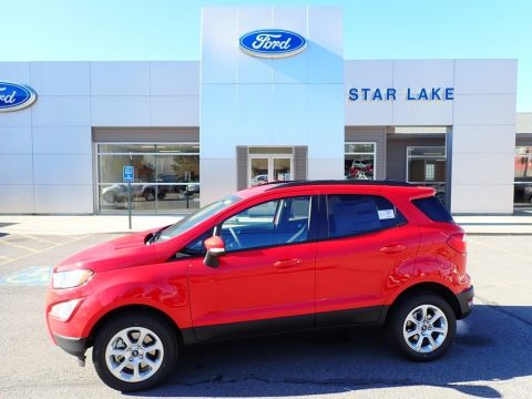 Race Red Ford EcoSport SE 4WD.  Click to enlarge.