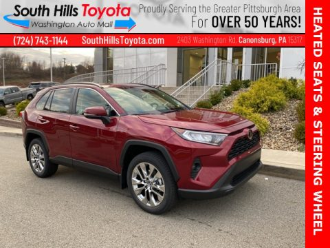 Ruby Flare Pearl Toyota RAV4 XLE Premium AWD.  Click to enlarge.