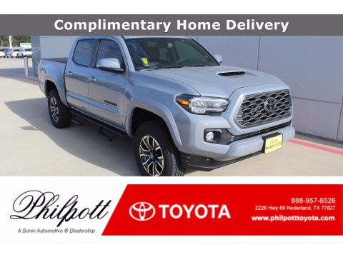 Cement Toyota Tacoma TRD Sport Double Cab 4x4.  Click to enlarge.