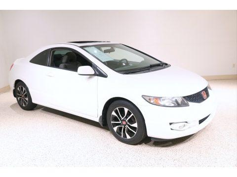 Taffeta White Honda Civic EX Coupe.  Click to enlarge.