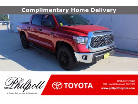 Barcelona Red Metallic Toyota Tundra SR5 Double Cab.  Click to enlarge.