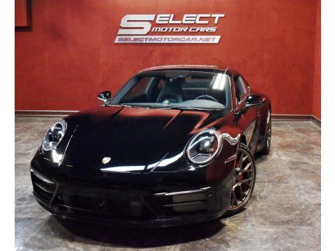Black Porsche 911 Carrera 4S.  Click to enlarge.