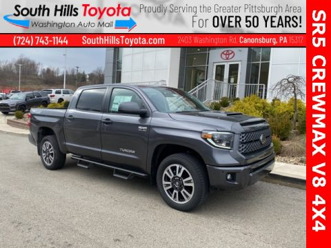 Magnetic Gray Metallic Toyota Tundra TRD Sport CrewMax 4x4.  Click to enlarge.
