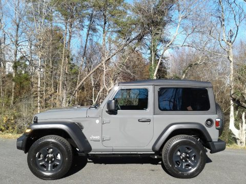 Sting-Gray Jeep Wrangler Sport 4x4.  Click to enlarge.