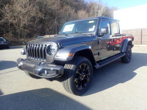 Granite Crystal Metallic Jeep Gladiator Overland 4x4.  Click to enlarge.