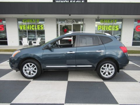 Graphite Blue Nissan Rogue SL.  Click to enlarge.