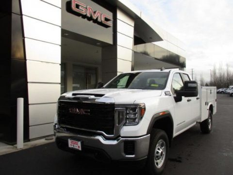 GMC Sierra 2500HD Double Cab 4WD Chassis Utility Truck
