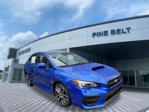 WR Blue Pearl Subaru WRX STI Limited.  Click to enlarge.