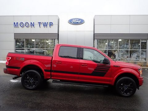 Rapid Red Ford F150 XLT SuperCrew 4x4.  Click to enlarge.