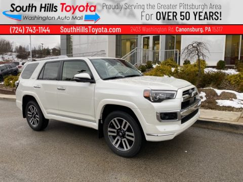 Super White Toyota 4Runner Limited 4x4.  Click to enlarge.