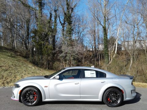 Triple Nickel Dodge Charger Scat Pack Widebody.  Click to enlarge.