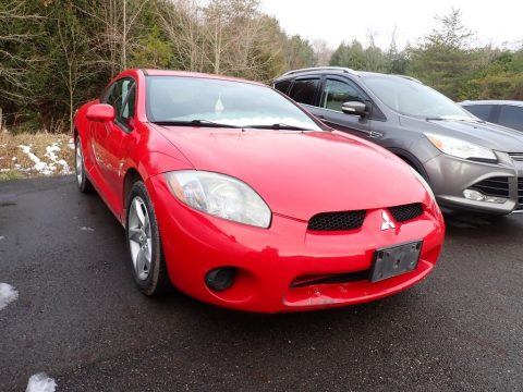 Pure Red Mitsubishi Eclipse GS Coupe.  Click to enlarge.