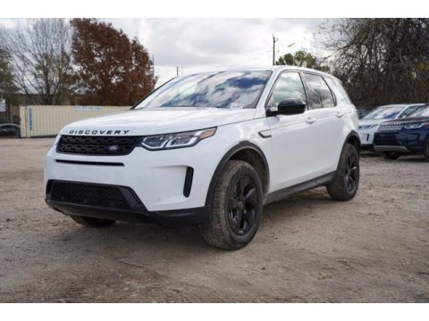 Fuji White Land Rover Discovery Sport S.  Click to enlarge.