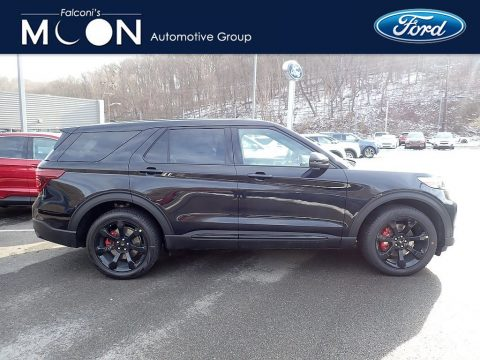 Agate Black Metallic Ford Explorer ST 4WD.  Click to enlarge.