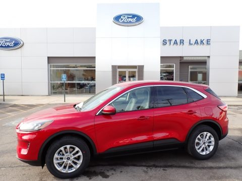 Rapid Red Metallic Ford Escape SE.  Click to enlarge.
