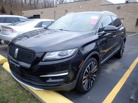 Infinite Black Metallic Lincoln MKC Black Label AWD.  Click to enlarge.