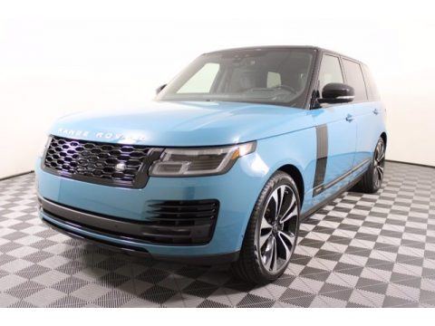 Premium Palette Blue Land Rover Range Rover Fifty.  Click to enlarge.