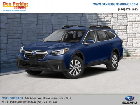 Abyss Blue Pearl Subaru Outback 2.5i Premium.  Click to enlarge.