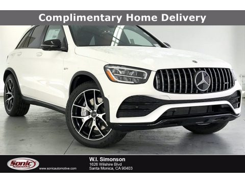 Polar White Mercedes-Benz GLC AMG 43 4Matic.  Click to enlarge.